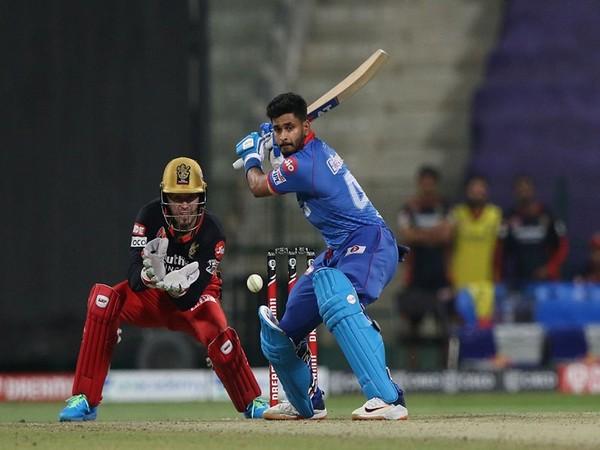 Delhi Capitals' skipper Shreyas Iyer in action against RCB (Photo/ iplt20.com)