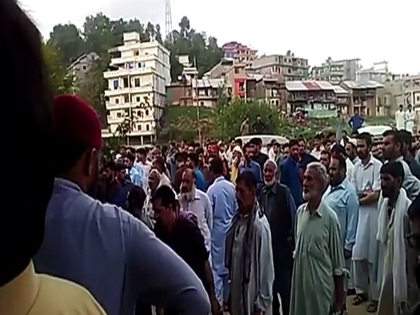 People in PoK protest against police brutality