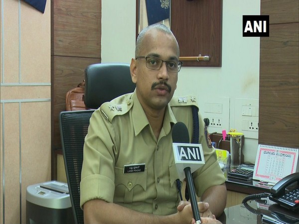 BM Laxmi Prasad, Superintendent of Police (SP) Dakshina Kannada, while talking to ANI on Thursday in Mangaluru. (Photo: ANI)