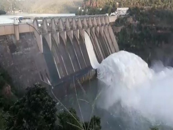 A view of the Srisailam reservoir (Photo/ANI)