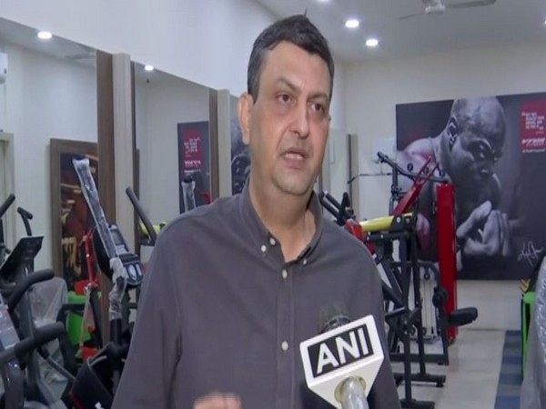 Rajeev, CEO of Regal Sports and Fitness Company, speaking to ANI on Thursday. Photo/ANI