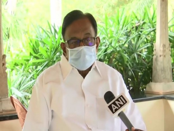 Congress leader P. Chidambaram (Photo/ANI)
