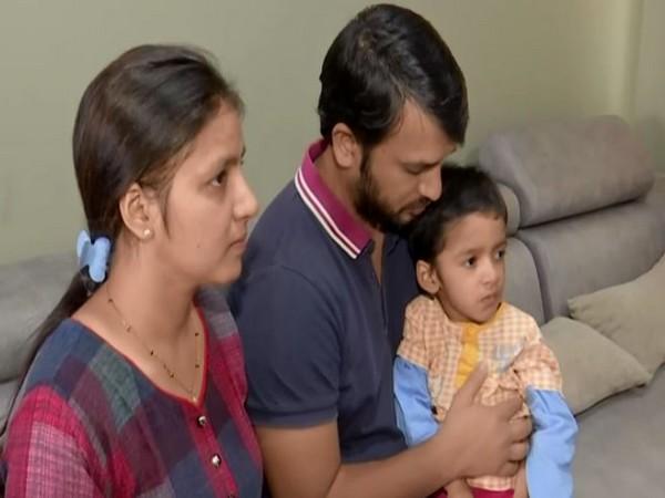 Ayaansh Gupta's family (Photo/ANI)