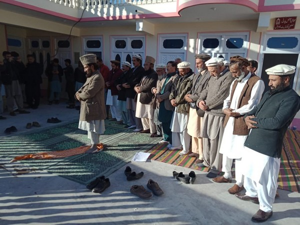 Asad Khan Achakzai's funeral prayer was held in Chitral District, Khyber-Pakhtunkhwa on Sunday. (Photo Credit: Awami National Party twitter)