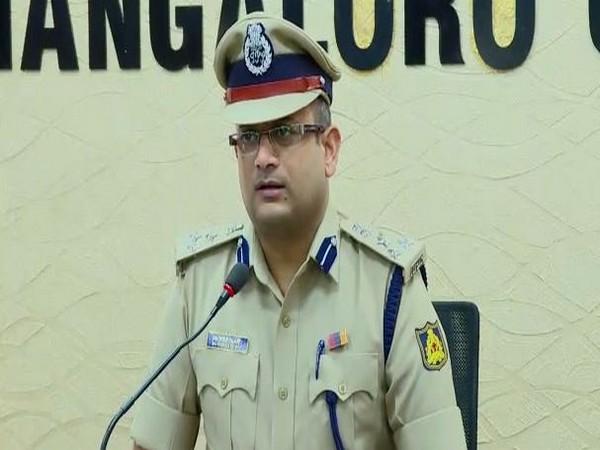 Mangaluru Police Commissioner PS Harsha addressed the media on Saturday. Photo/ANI