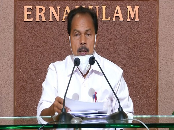 Congress leader PT Thomas addressing a press conference in Kochi on Saturday. Photo/ANI