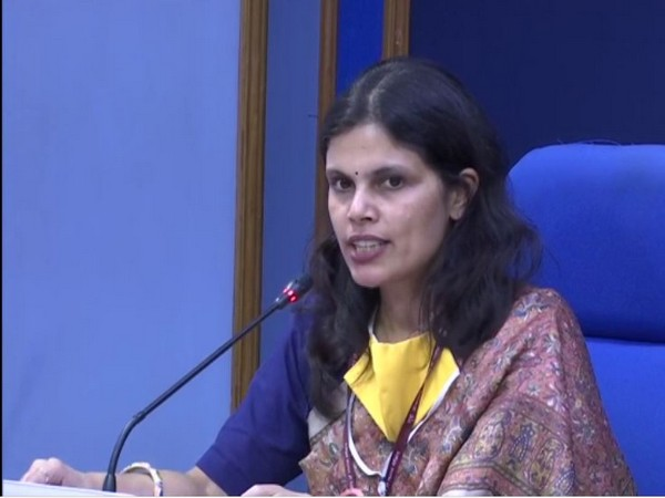 Punya Salila Srivastava, Joint Secretary, Ministry of Home Affairs (MHA) speaking at a press briefing in New Delhi on Friday (Photo/ANI)