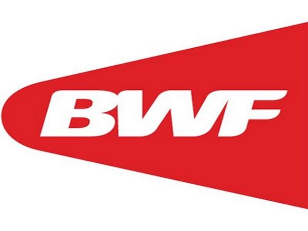 Badminton World Federation logo.
