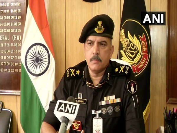IG (Headquarters) of NSG, Pramod Phalnikar speaking to ANI