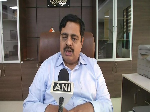 Additional Director General (ADG) Law and Order P V Ramasastry Ramasastry speaks to ANI in Sambhal on Wednesday. [Photo/ANI]