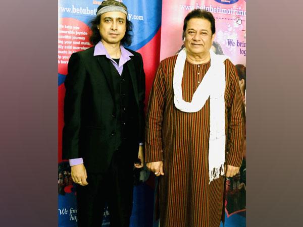 Padma Shri Anup Jalota with Devashish Sargam (Raj)