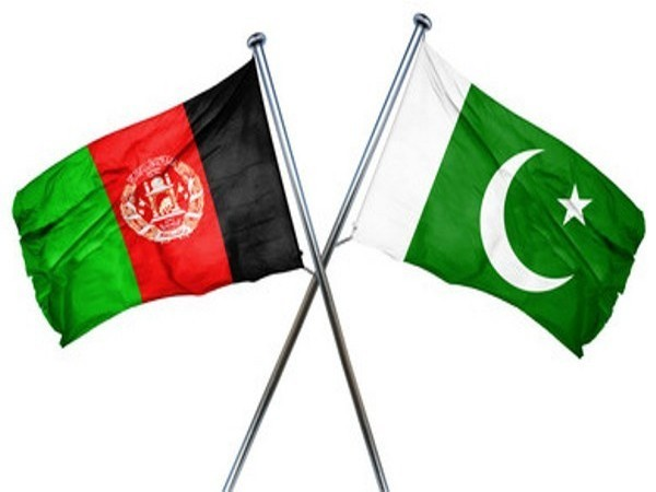 Afghanistan and Pakistan flags