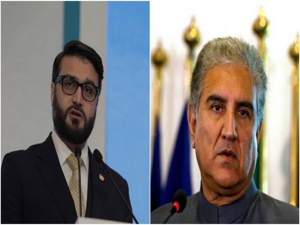 Afghan NSA Hamdullah Mohib and Pakistan Foreign Minister Shah Mehmood Qureshi