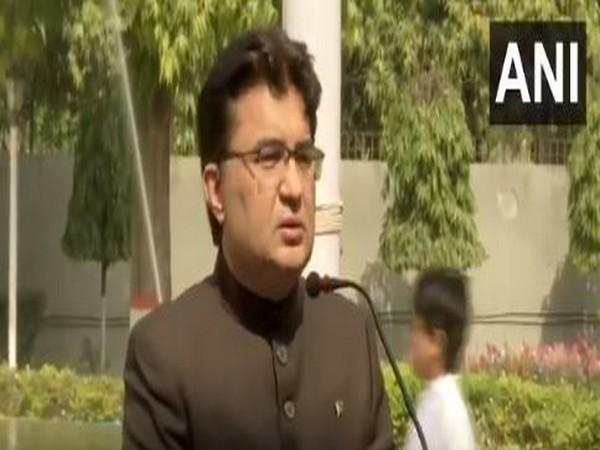 Charge d' Affaires, Pakistan High Commission Aftab Hasan Khan (ANI)