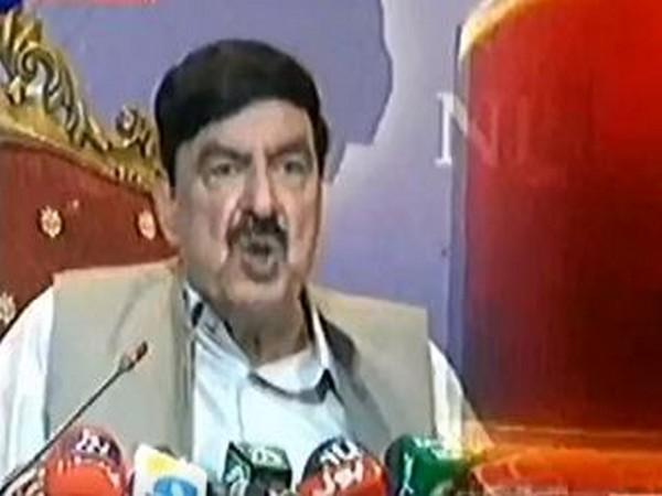Pakistan Minister of Railways, Sheikh Rasheed Ahmad (File photo)