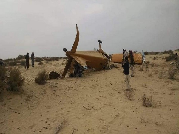 Visuals of the plane which crashed in Pakistan's Sadiqabad on Sunday.
