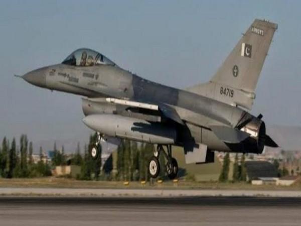 File pic of a Pakistani fighter jet.