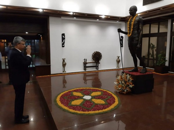 Gandhi Jayanti was celebrated at Indian Embassy in Pakistan (Picture Credits: Indian Embassy in Pakistan/Twitter)