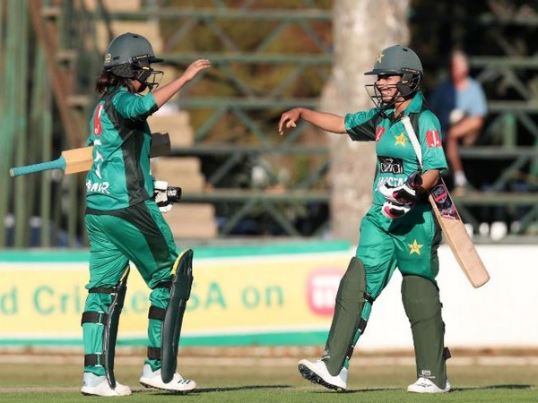 Pakistan women defeat South Africa women to register a four-wicket victory here on Sunday. (Photo/ Pakistan Cricket Twitter)