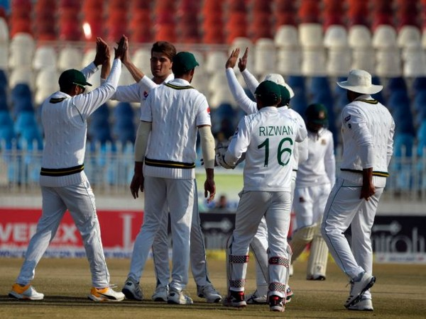Naseem and Yasir took four-wickets each in Bangladesh's second innings. (Photo/ Pakistan Cricket Twitter)