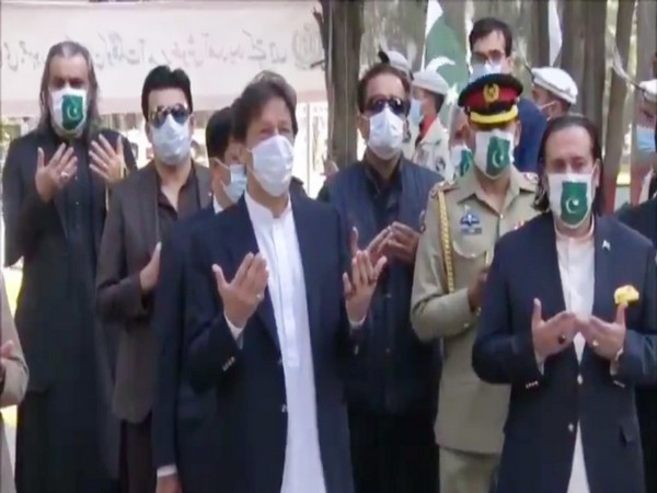 Pakistan PM Imran Khan during his recent visit to Gilgit Baltistan