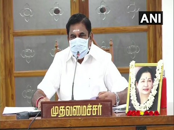 Tamil Nadu Chief Minister Edappadi K Palaniswami (File photo)