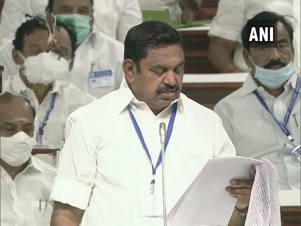 Chief Minister Edappadi K Palaniswami speaking in Tamil Nadu Assembly on Friday.