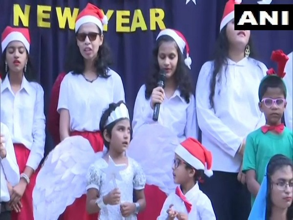 Visual from the event held in Panaji on Saturday. Photo/ANI