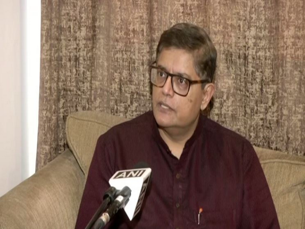 BJP Assam in-charge Baijayant Panda speaking to ANI in New Delhi. [Photo/ANI]