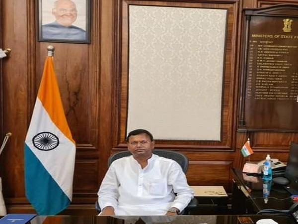 Minister of State (MoS) Finance Pankaj Chaudhary (ANI)