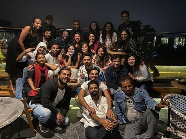 'Shubh Mangal Zyada Saavdhan' team (Image courtesy: Instagram)