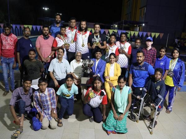 Karnataka won 59 gold medals in the championship.
