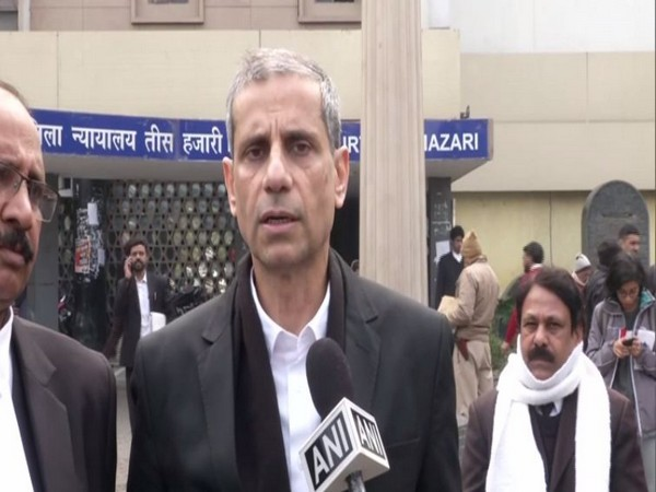 Advocate Mehmood Pracha speaking to ANI in New Delhi on Tuesday. Photo/ANI