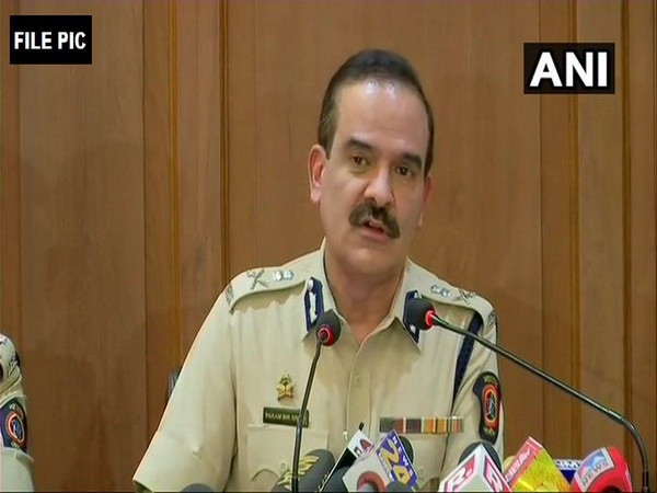 Former Mumbai Police Commissioner Param Bir Singh (File Photo/ANI)