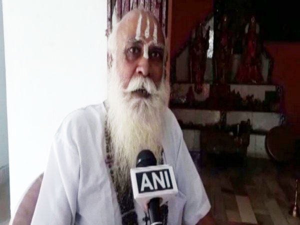 Parashuram Das, priest of Ram Janaki temple in conversation with ANI on Saturday, Photo/ANI