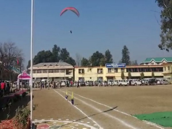 Paraglider met an accident in Bilaspur, HP on Sunday