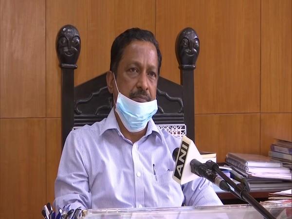 Manoj Parida, Adviser to Chandigarh Administrator speaking to ANI on Monday. (Photo/ANI)