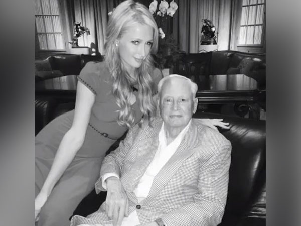 'Such an incredible mentor': Paris Hilton mourns grandfather's death