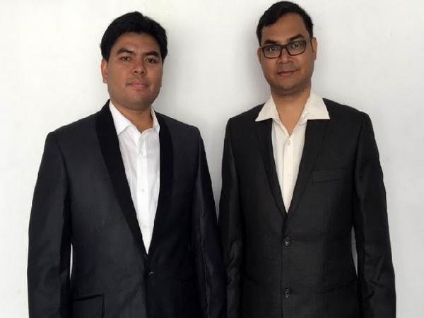 Tridib Konwar and Mriganka Deka, Co-founders of ParkingRhino