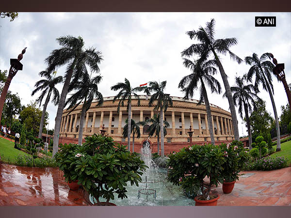 A view of Indian Parliament. Photo/ANI