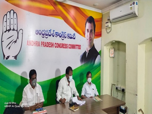 Andhra Pradesh Congress President Sake Sailajanath questioning the YSRCP government's order of CID enquiry on party vice president Dr Gangadhar.
