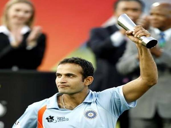 India all-rounder Irfan Pathan (Photo/Shikhar Dhawan Twitter)