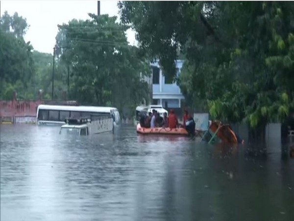 Visual of roads flooded in Bihar (File Photo)