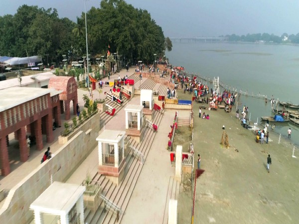 Ganga riverfront in Patna