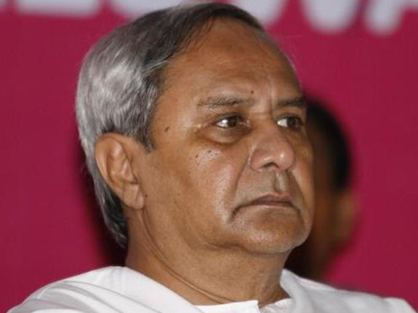 File photo of Chief Minister Naveen Patnaik