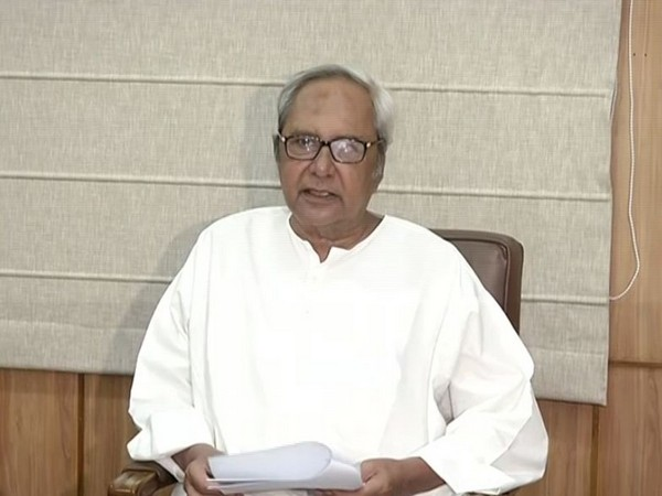 Odisha Chief Minister Naveen Patnaik speaking to reporters in Bhubaneswar, Odisha on Saturday. Photo/ANI