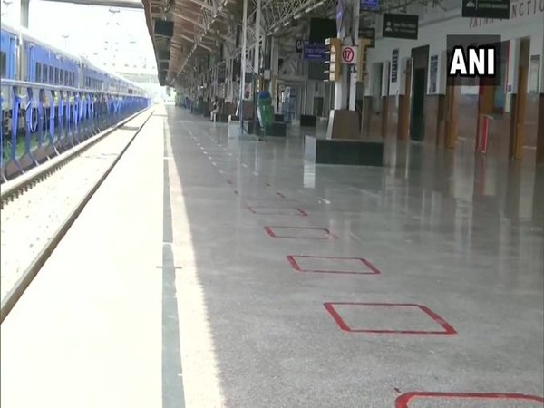 Visual from Patna junction on Tuesday. Photo/ANI