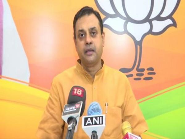 BJP spokesperson Sambit Patra speaking to reporters on Tuesday. [Photo/ANI]