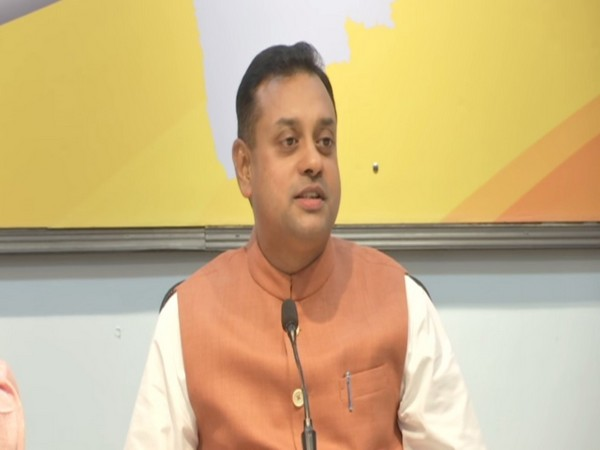 BJP leader Sambit Patra addressing a press conference in Mumbai on Sunday. Photo/ANI
