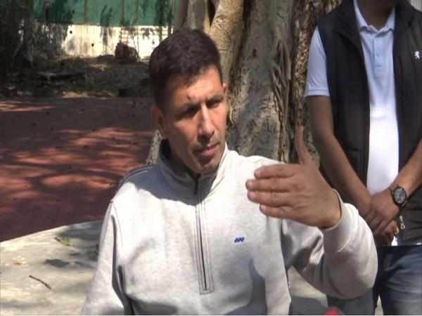 MP Minister Jitu Patwari speaking to reporters in Bhopal on Saturday. Photo/ANI